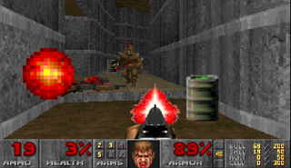 Play Doom On-Line with Flash